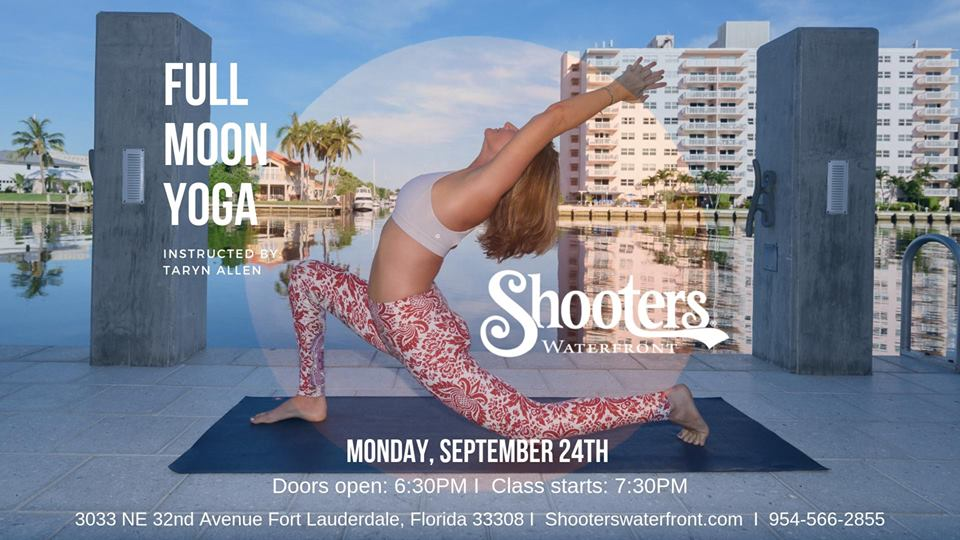 free yoga class in Ft lauderdale florida