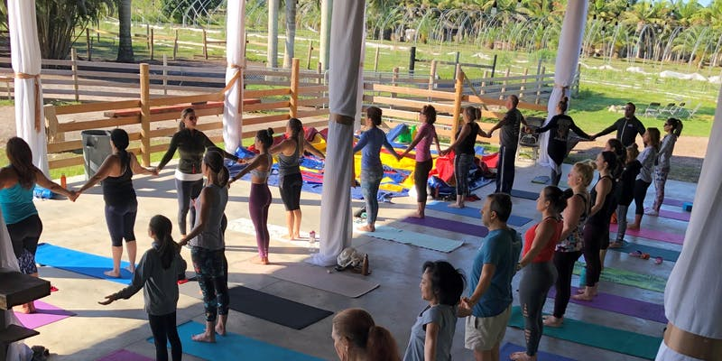 Full Moon Yoga Experience At The Ranch @ Marando Ranch | Davie | Florida | United States