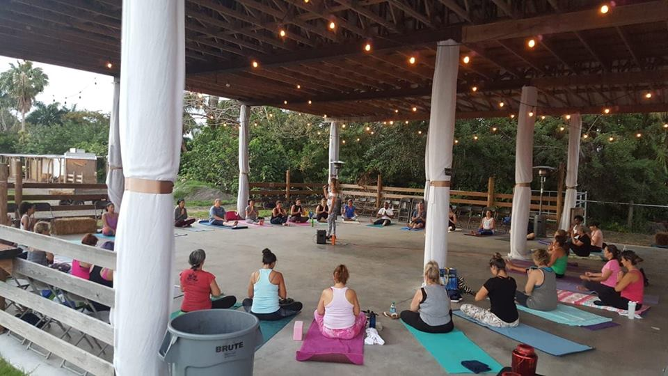 yoga class south florida