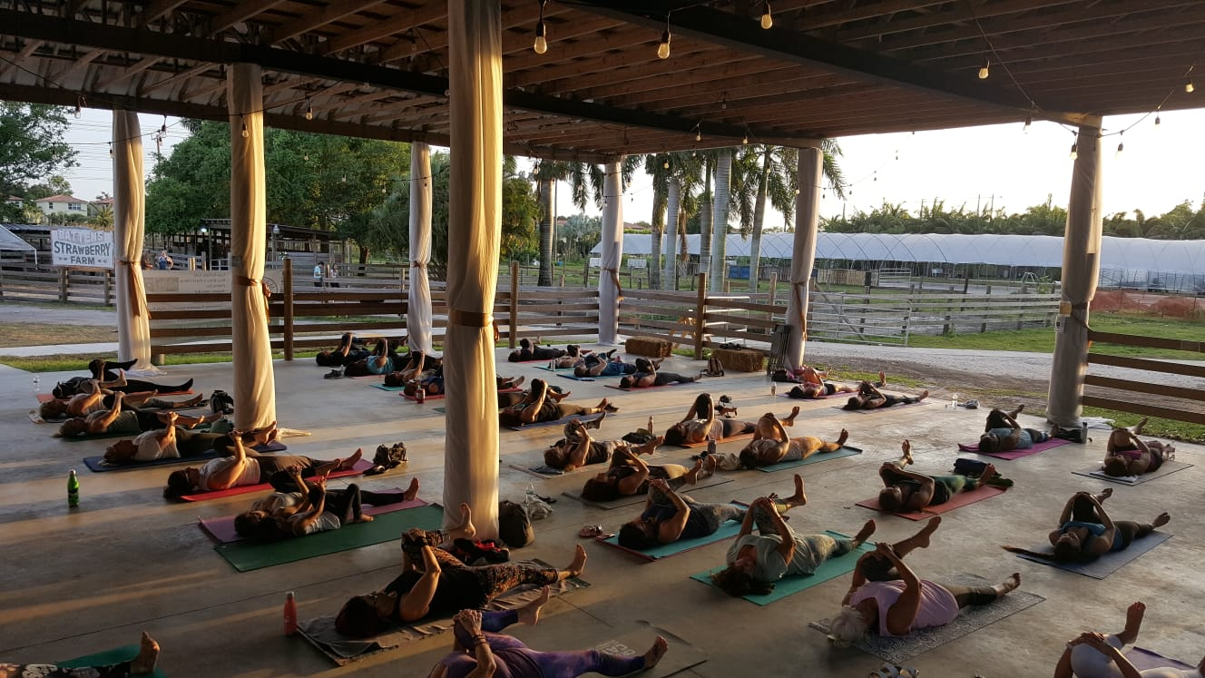 Bal·ance Full Flower Moon Yoga Event @ Marando Ranch | Davie | Florida | United States