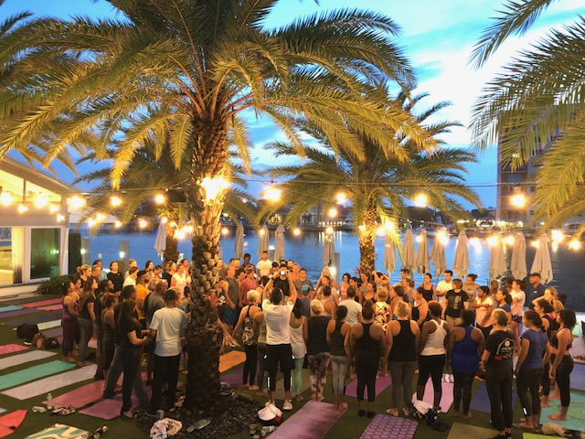 full moon yoga class in fort lauderdale